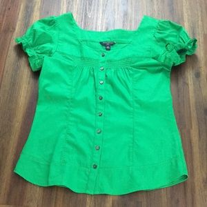 Banana Republic heeen dressy fitted blouse